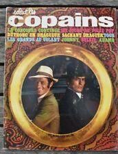 Salut les copains - n°87 - 1969 - Belmondo, Delon, Johnny, Adamo, Dutronc Sylvie