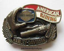 Harley Davidson AMERICAN RIDING H-413 Baron Belt Buckle