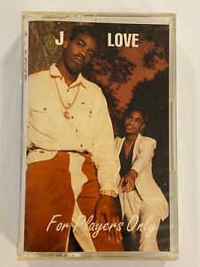 J-LOVE For Players Only 1992 CASSETTE New SEALED Atlanta R&B Southern Rare