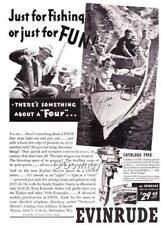Vintage ad 1940 Evinrude Outboard Motors Elto