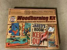Nsi International Classic Crafts Woodburning Kit Ages 14 & up Makes 10 Projects