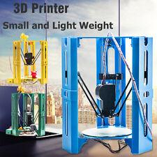 NEW Desktop Hero Delta DIY 3D Printer Kit High Precision Printing Easy Assembled