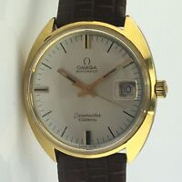 VINTAGE MENS OMEGA SEAMASTER COSMIC DATE AUTOMATIC 35MM WRIST WATCH