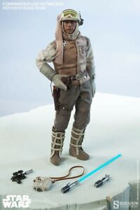 Sideshow Collectibles Commander Luke Skywalker Hoth 1/6 scale figure