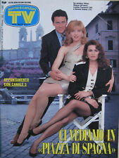 SORRISI 4 1992 Ethan Wayne Cuccarini Serena Grandi Enrico Ruggeri Joanna Johnson
