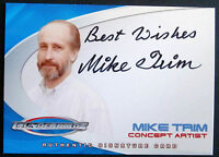 Thunderbirds The Movie: Mike Trim, Concept Artist - Autograph Card - Cards Inc