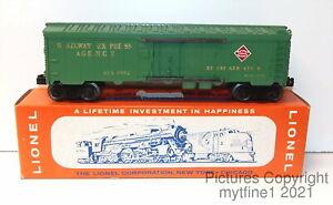 ~ LIONEL #6572 - REA REFRIGERATOR CAR with ORIGINAL BOX ~