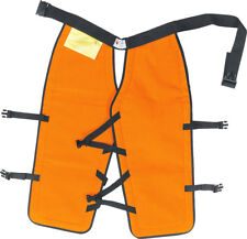 """Sawbuck Four-Ply Para-Aramid Standard Coverage Chain Saw Chaps 40"""" L Safety O..."""