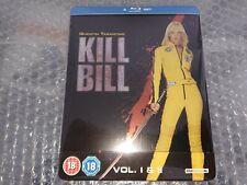 Kill Bill Vol. 1 & 2 - Steelbook Blu-Ray UK
