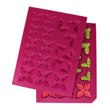 Heartfelt Creations 3D Christmas Poinsettia Shaping Mold Candlelit Flower