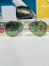 RAY BAN RB3025 58/14 AVIATOR Sunglasses CLASSIC G-15 Lens, GOLD Frame