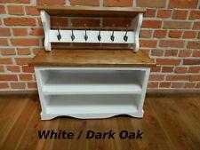 Hall Storage Bench Coat Hook Shelf and Shoe Storage Unit Hallway