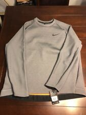 NEW Mens Nike dri-fit Therma SPHERE MAX Long Sleeve Charcoal XXL 800225-071