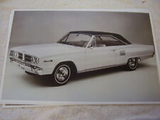 1966 DODGE CORONET 500   11 X 17  PHOTO   PICTURE