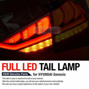 OEM Parts Rear Tail Light LED Lamp RH Inside for HYUNDAI 2014-2016 Genesis Sedan