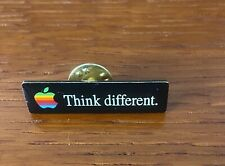 Original Apple Think Different Pin Badge - Geek 90s Vintage