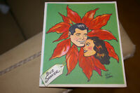 1951 Buz Sawyer Christmas Card King Features Syndicate Illustrated By Roy Crane