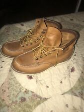 red wing moc toe boots Size 9.5 GREAT CONDITON