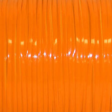 100 YARDS (91m) SPOOL NEON TANGERINE REXLACE PLASTIC LACING CRAFTS CYBERLOX