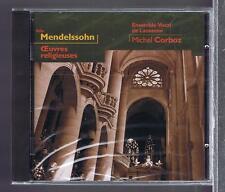 MENDELSSOHN CD NEW RELIGIOUS WORKS MICHEL CORBOZ / BEATRICE VOELLMY