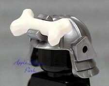 NEW Lego Ninjago Lord Garmadon Minifig SAMURAI HELMET Gray w/Bone 2505 2507 2506