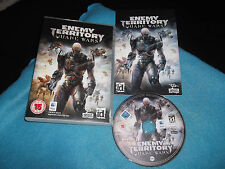 ENEMY TERRITORY QUAKE WARS APPLE MAC/DVD FPS V.G.C. FAST POST COMPLETE