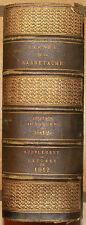 CARNET DE LA SABRETACHE. ANNEE 1912. AVEC : LETTRES CAMPAGNE DE RUSSIE EN 1812.