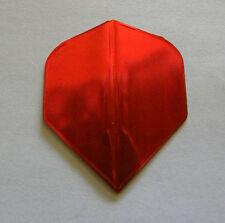 Dart Flights- Smooth Metallic Red - 5 Stand. Sets