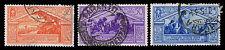 1930 ITALY #249, 252 & 254 BIRTH OF VIRGIL - USED - VF - CV$14.40 (ESP#1080)