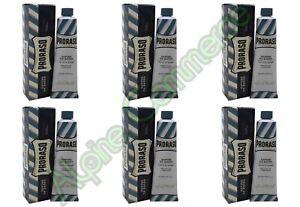 *6-Pack* Proraso 5.2oz Protective Shaving Cream Blue 400147