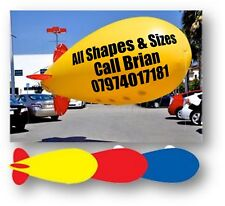 3m  ADVERTISING BALLOON INFLATABLE HELIUM BLIMP WITH YOUR LOGO