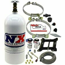 Nitrous Express Mainline Holley 4150 4bbl Plate Kit System 100-250hp (Ml1000)