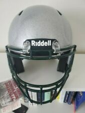Riddell Speed Foundation ,Large- Silver metallic with Dbl Blk flake- Dkgreen Fm