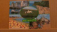 Postcard Unposted Dorset Weymouth 5 views