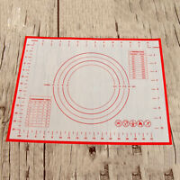 Silicone Dough Rolling Mat Baking Mat Pastry Clay Pad Sheet Liner Non Stick Hot