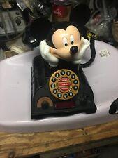 Disney Mickey Mouse Talking Alarm Clock Radio Telephone Phone