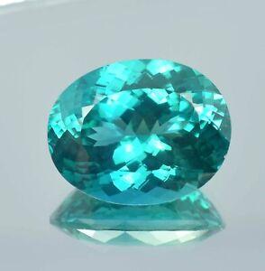 AAA Natural Flawless Bi Colour Montana Sapphire Loose Oval Gemstone Cut 26.40 Ct