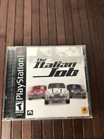 The Italian Job  PlayStation PS1 Game Tested Working Complete