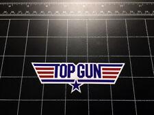 Top Gun 1986 movie logo decal sticker Military US Navy fighter jet F14 tomcat