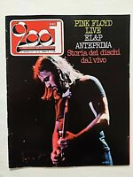 VERY RARE CIAO 2001 12-1977 POSTER STEVIE WINWOOD-PINK FLOYD-LE ORME-SKYNYRD