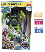 U.S. US Divers Youth Junior Snorkeling Set Mask Snorkels Fins Scuba Diving Kids1