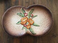 Carltonware: Retro segmentados plato ovalado en el patrón de Somerset