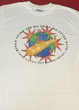 VTG RINGO STARR Beatles ALL STARR TOUR White T - SHIRT LG