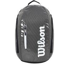 Wilson Super Tour Backpack Tennis Gray Black Badminton Squash Nwt Wrz-843996