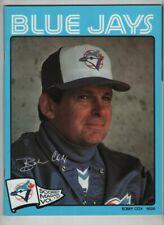 Toronto Blue Jays Scorebook Vs Cleveland Indians Bobby Cox Vol.7 1983 021921nonr