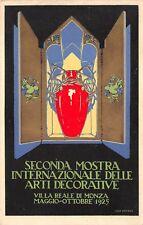 C5849) MONZA 1925, SECONDA MOSTRA INTERNAZIONALE ARTI DECORATIVE.