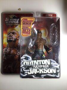 UFC Round 5 MMA Action Figure QUINTON RAMPAGE JACKSON Series 1