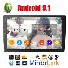 10.1 inch HD Touch Screen Car Android 9.1 Stereo Radio GPS Wifi DAB Mirror Link