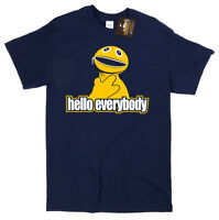 Zippy Inspired Rainbow Hello Everybody T-shirt - Retro British Kids TV Show Tee