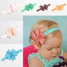 10pcs Baby Girl Headband Lace Headwear Elastic Hair Band Hairband Headdress